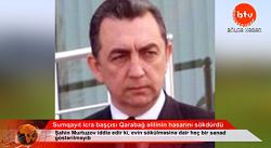 Sumqayıt icra başçısı Qarabağ əlilinin hasarını sökdürdü-VİDEO