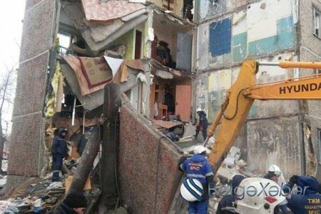 Qazaxıstanda yaşayış binasının uçması nəticəsində doqquz nəfər ölüb
