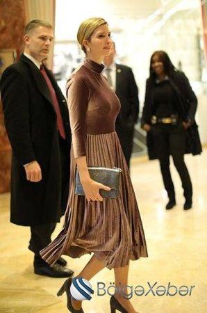 Trampın qızının 113 dollarlıq libası - FOTO
