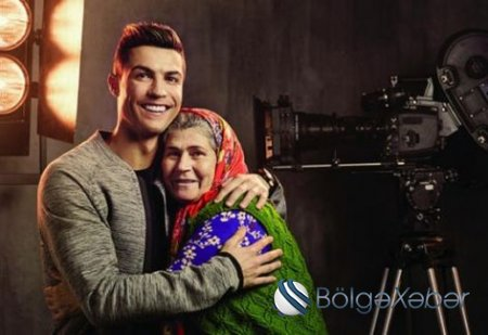 Ronaldonu reklama çəkən türkiyəli Ümmiyə xala - VİDEO