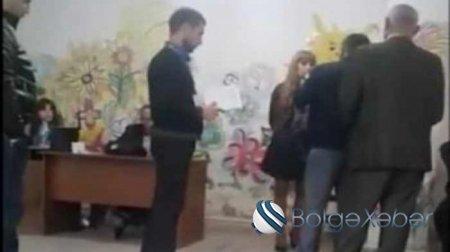 Ermənistanda daha bir seçki məntəqəsində QALMAQAL-VİDEO