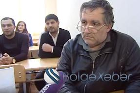 Azərbaycanın ən yaşlı tələbəsi – 59 yaşlı Bəhram Şamilov üçüncü kurs tələbəsidir – VİDEO
