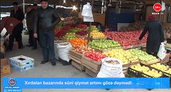Xırdalan bazarında süni qiymət artımı gözə dəymədi-VIDEO