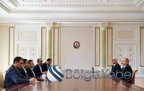 Prezident İlham Əliyev İran Prezidenti Aparatının rəhbərini qəbul edib