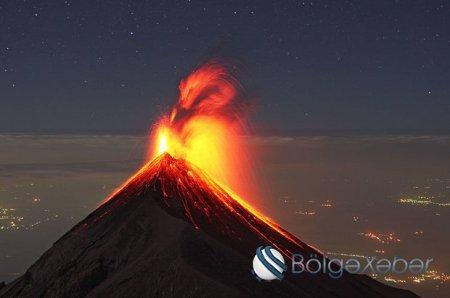 Qvatemalada vulkan püskürməsi: 25 nəfər öldü