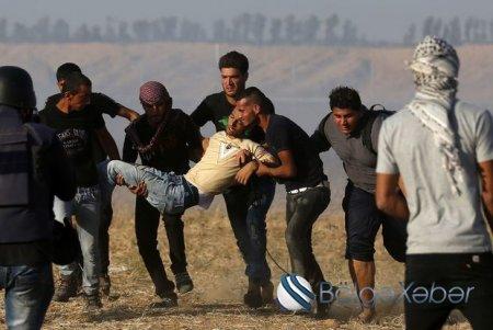 Qəzzada toqquşma: 4 ölü, 600 yaralı