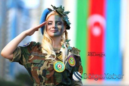 Ordumuzun ən gözəli XANIM XÜSUSİ TƏYİNATLISI HAMINI HEYRAN ETDİ - FOTO