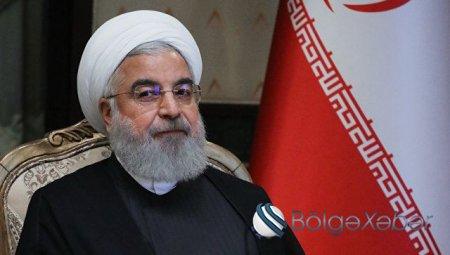 """Həsən Ruhani: """"ABŞ-ı diz çökdürəcəyik"""""""