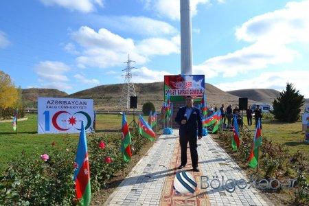 Hacıqabulda 9 noyabr Azərbaycan Respublikasının Dövlət bayrağı gününə həsr olunmuş rayon tədbiri keçirildi