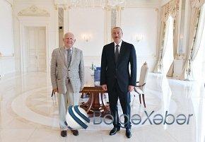 Prezident İlham Əliyev Avropa Olimpiya Komitələrinin prezidentini qəbul edib